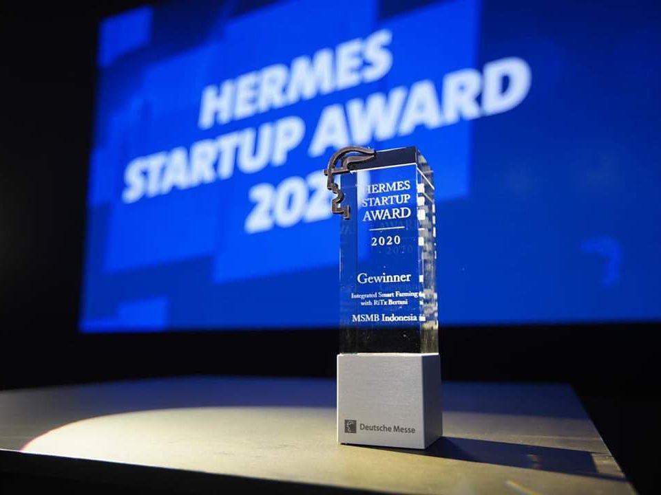 Startup MSMB Berhasil Sabet Penghargaan Hermes Startup Award 2020 di Jerman